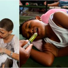 Pernai per ginkluotus konfliktus žuvo ar buvo sužeista daugiau kaip 12 tūkst. vaikų