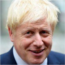 """B. Johnsono pažadai airių premjerui: po """"Brexit"""" nebus realių pasienio tikrinimų"""