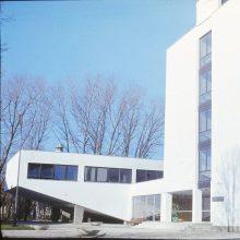 Mokslas: KPI cheminės technologijos fakulteto C korpusas. 1975 m.