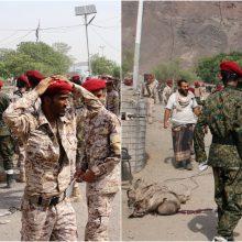 Išpuoliai Jemene: per dvi atakas žuvo 49 žmonės