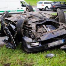 Trečiadienio nelaimės keliuose: sužeisti keturi nepilnamečiai, žuvo senolė