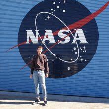 NASA dirbantis studentas: mane supa aukščiausio lygio specialistai