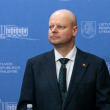 Premjeras: Vyriausybės pozicija dėl Astravo AE elektros importo nesikeičia