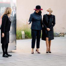 D. Nausėdienė ir B. Macron lankėsi MO muziejuje: parodoje – aktualios temos