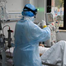 Vokietijoje per parą užsikrėtimo koronavirusu atvejų skaičius padidėjo 5,4 tūkst.
