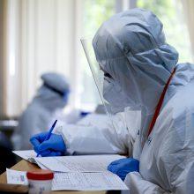 Lietuvoje per parą patvirtinti aštuoni COVID-19 atvejai, mirė vienas ligonis