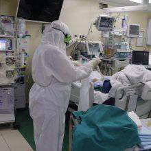 Nuo koronaviruso mirė Antavilių pensionato globotinis ir Santaros klinikų pacientas