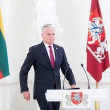 G. Nausėda apie atsakomąsias Baltarusijos sankcijas: mūsų tai neišgąsdins