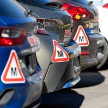 Protestuotojų reikalavimas Vyriausybei – atnaujinti praktinį vairavimo mokymą ir egzaminus