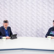 """""""Kauno dienos"""" studijoje – Lietuvos čempionų """"Kaunas Hockey"""" klubo įkūrėjas P. Nausėda"""