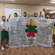 Lietuvos sportininkus olimpiniame kaimelyje įkvepia sirgalių linkėjimai