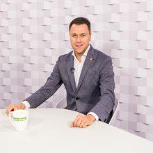 """""""Kauno dienos"""" studijoje – FIFA pasaulio salės futbolo čempionatą palydint"""