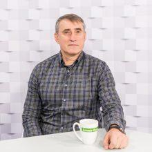 """""""Kauno dienos"""" studijoje – K. Kemzūra: apie rinktinę ir """"Žalgirį"""""""