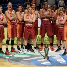Krepšininkės S. Baltkojienės komanda Europos taurės turnyre pralaimėjo