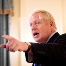 D. Britanijos premjeras: Iranas atsakingas už atakas prieš Saudo Arabiją