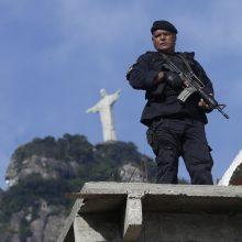 Brazilijos policija tiria išpuolį prieš Jėzų homoseksualu pavaizdavusią komikų trupę