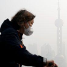 Pekiną gaubia tirštas smogas: kietųjų dalelių koncentracija normą viršija 10 kartų