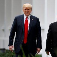 D. Trumpas ir Kim Jong Unas nuo 2018-ųjų apsikeitė 12 laiškų