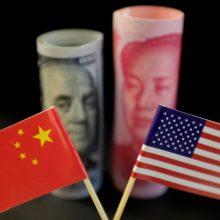 JAV valstybės sekretorius: prekybos karas su Kinija gali įžiebti tikrą karą