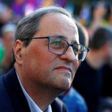 Katalonijos prezidentui gresia teismas dėl nepaklusnumo