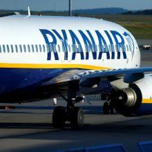 """""""Ryanair"""" ketina atleisti daugiau nei 500 darbuotojų"""