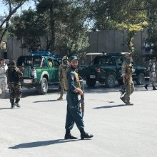 Kabule netoli JAV ambasados nugriaudėjo sprogimas: žuvo dešimtys žmonių