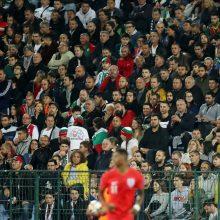 Po kilusio rasizmo skandalo atsistatydina Bulgarijos futbolo sąjungos prezidentas
