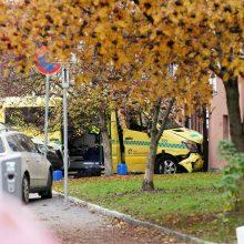Norvegų policija areštavo su vogtu greitosios pagalbos automobiliu siautėjusį asmenį