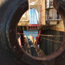 Vokietijos vyriausybė: rusiškų dujų tranzitas per Ukrainą turi išlikti