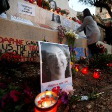 Maltoje dėl žurnalistės nužudymo areštuotas verslininkas – bandė išvykti iš šalies