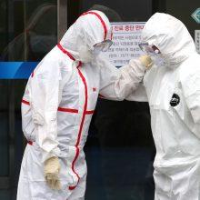Nigerijoje užfiksuotas pirmasis užsikrėtimo koronavirusu atvejis