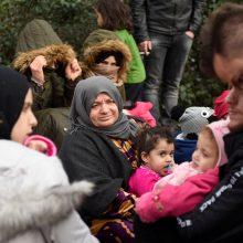 Po Turkijos sprendimo dėl migrantų Bulgarija ir Graikija sustiprino sienų kontrolę