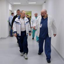 Kremlius: V. Putinui reguliariai atliekami testai dėl koronaviruso