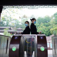 Kinijoje nustatyti 42 nauji užsikrėtimo koronavirusu atvejai