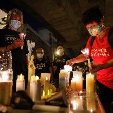 ES: honkongiečiams turi būti leista laisvai paminėti Tiananmenio žudynių metines