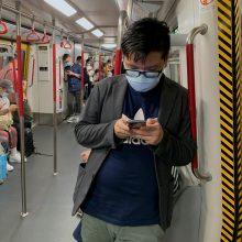 Honkonge išaugus viruso infekcijų skaičiui, įvedama naujų apribojimo priemonių