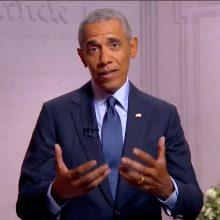 Paaiškėjo, kada B. Obamos prezidentinių memuarų tomas bus išleistas lietuvių kalba