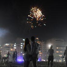 Rio de Žaneire tvarkytojai po Naujųjų metų nakties džiaugėsi mažesniais atliekų kiekiais