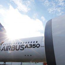 """2020 m. dėl koronaviruso pandemijos """"Airbus"""" patyrė 1,1 mlrd. eurų nuostolių"""