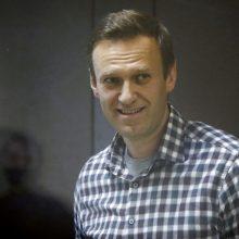 Vokietijos užsienio reikalų ministras prieštarauja griežtesnėms sankcijoms Rusijai dėl A. Navalno