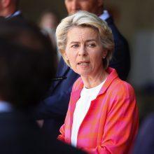 EK vadovė ragina ES valstybes nares priimti pabėgėlius iš Afganistano