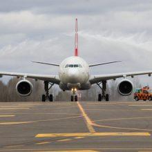 Statistika: balandžio pabaigoje pastebimas skrydžių skaičiaus augimas