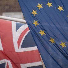 """Anglijos bankas ragina JK komercinius bankus ruoštis """"Brexitui"""" be sutarties"""