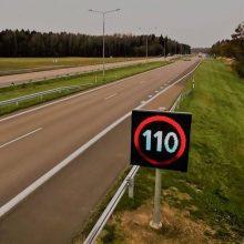 Magistralėje Vilnius–Kaunas–Klaipėda daugės kintamos informacijos kelio ženklų