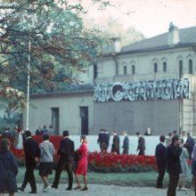Šventė: KPI festivalis Vytauto parke 1965 m.