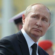 Apklausa: beveik 40 proc. rusų nenorėtų, kad V. Putinas prezidentautų po 2024-ųjų