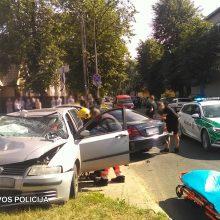 Policija prašo pagalbos: ieško, kas matė avariją Panevėžyje