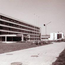 Nyku: KPI Automatikos ir radijo elektronikos fakulteto rūmai. 1974 07 22.