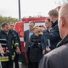 Alytaus gaisro pamokos: siūlo lengviau skelbti valstybinę ekstremalią situaciją