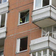Rokiškyje per sprogimą bute nukentėjo moteris